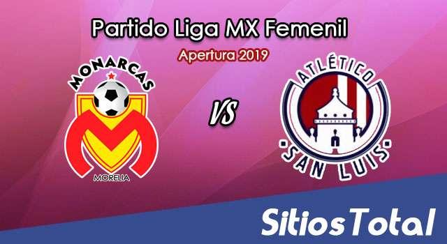 Ver Monarcas Morelia vs Atlético San Luis en Vivo – Liga MX Femenil – Apertura 2019 – Jueves 22 de Agosto del 2019