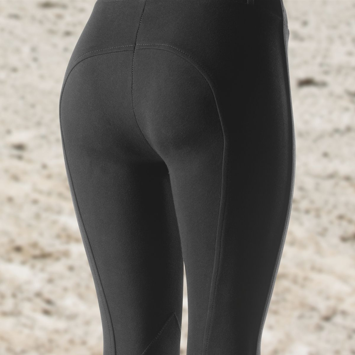 Horze-Ella-Women-039-s-Pull-On-Leather-Knee-Patch-Riding-Breeches-Knitted-Fabric thumbnail 8