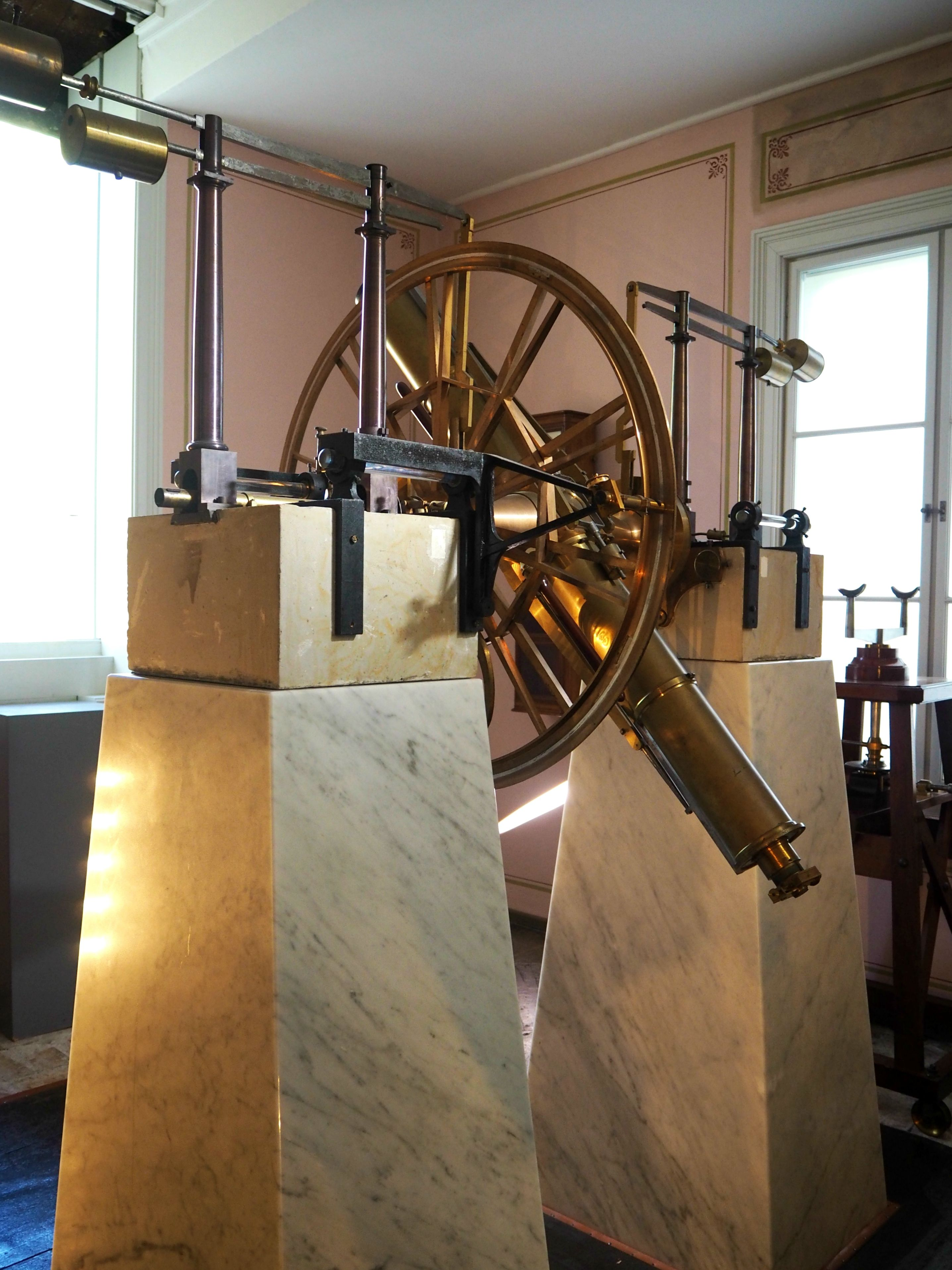 The Meridian Room at the University of Oslo's Observatory