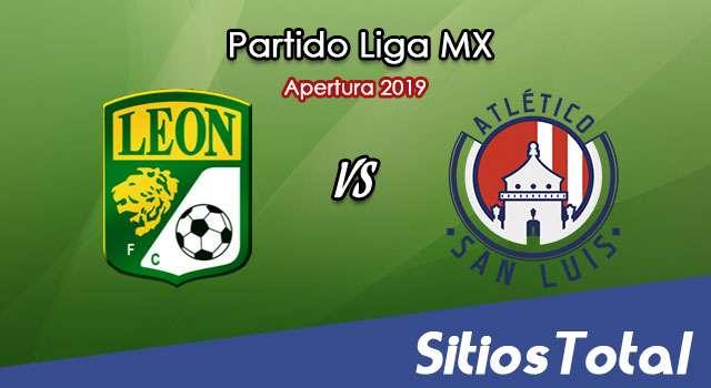 Ver León vs Atlético San Luis en Vivo – Apertura 2019 de la Liga MX