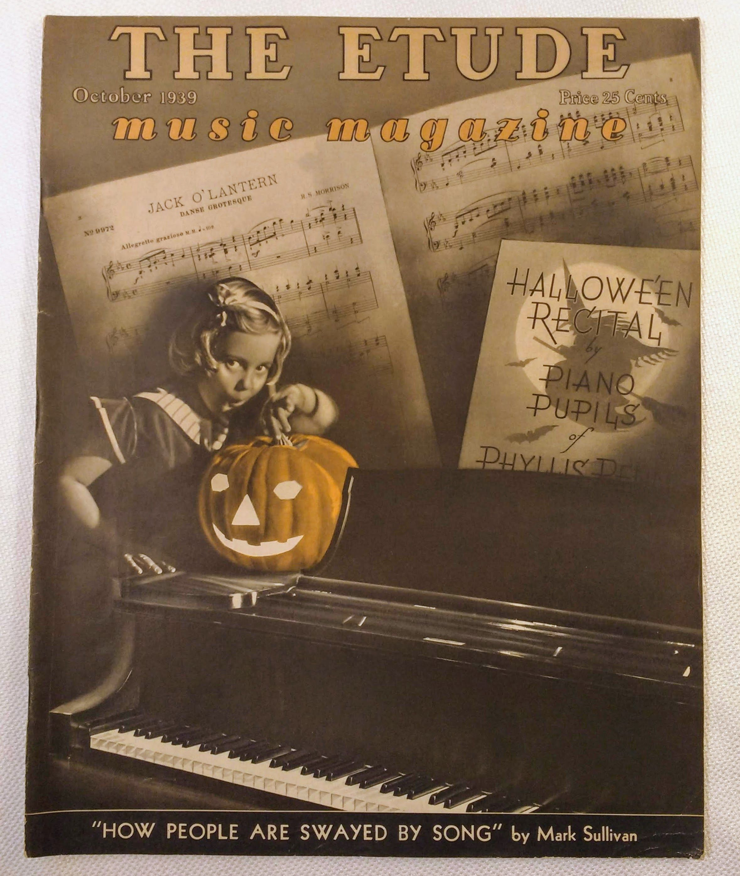 Image for The Etude Music Magazine: Volume LVII, No. 10; October, 1939