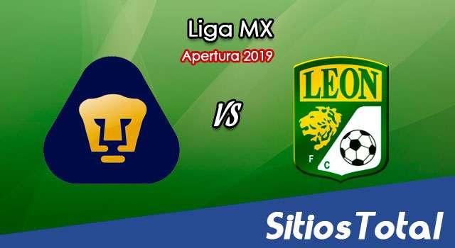 Ver Pumas vs León en Vivo – Apertura 2019 de la Liga MX