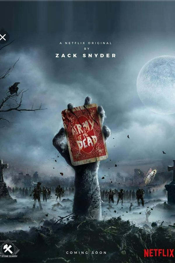 First Look Army Of The Dead Zach Snyder Poster