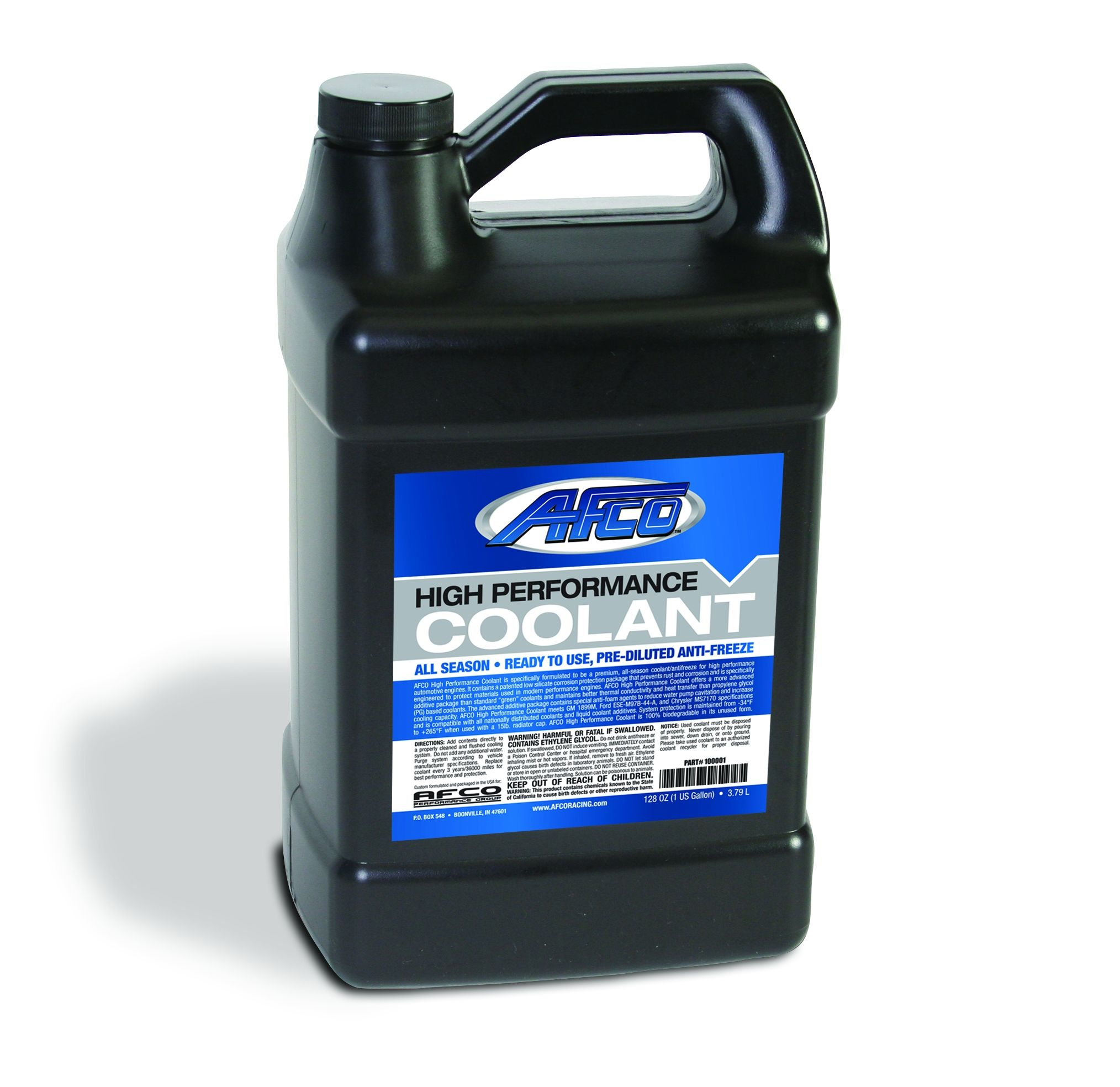 High Performance Coolant  Non-Propylene Glycol  Premixed  1 Gallon