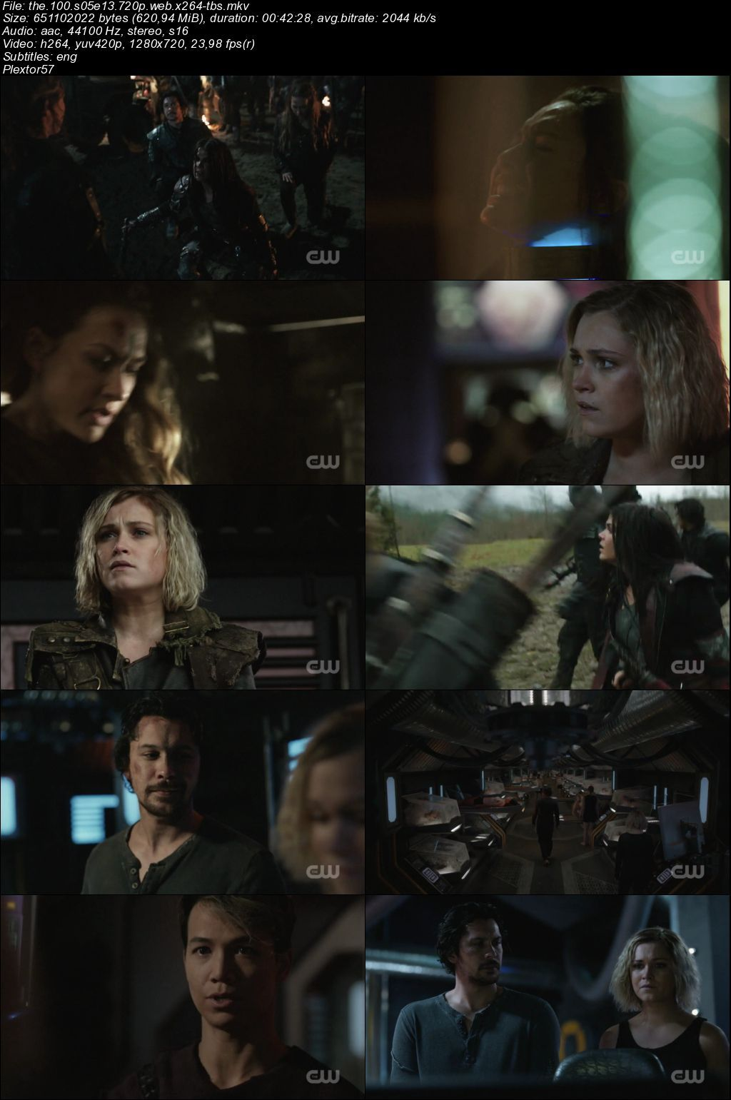 The 100 5.sezon tum bolumler