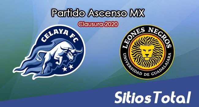 Ver Celaya vs Leones Negros en Vivo – Ascenso MX en su Torneo de Clausura 2020