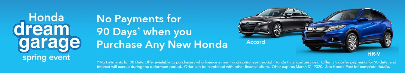 Honda East Cincinnati Finance Specials