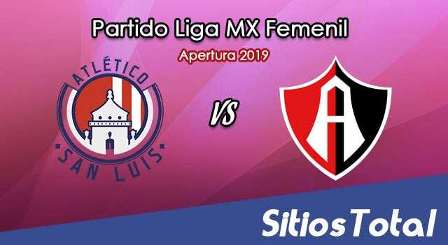 Ver Atlético San Luis vs Atlas en Vivo – Liga MX Femenil – Apertura 2019 – Lunes 15 de Julio del 2019