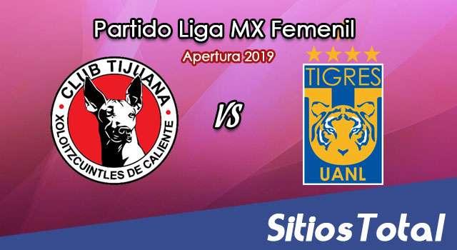 Ver Xolos Tijuana vs Tigres en Vivo – Ida Cuartos de Final – Liga MX Femenil – Apertura 2019 – Jueves 14 de Noviembre del 2019