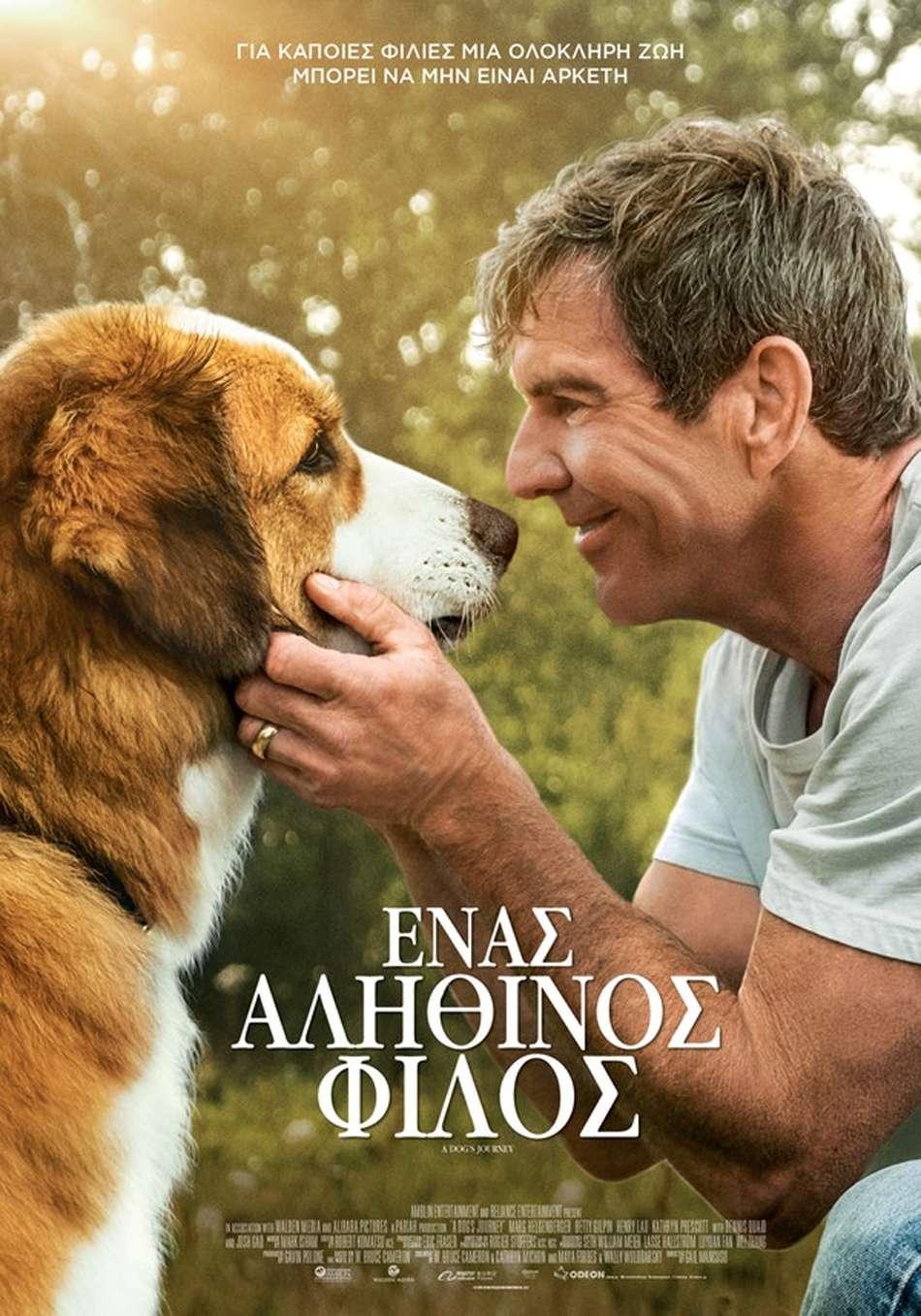 Ένας Αληθινός Φίλος (A Dog's Journey) - Trailer / Τρέιλερ Poster