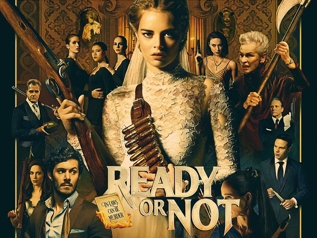 Είσαι Έτοιμος; (Ready or Not) Quad Poster Πόστερ