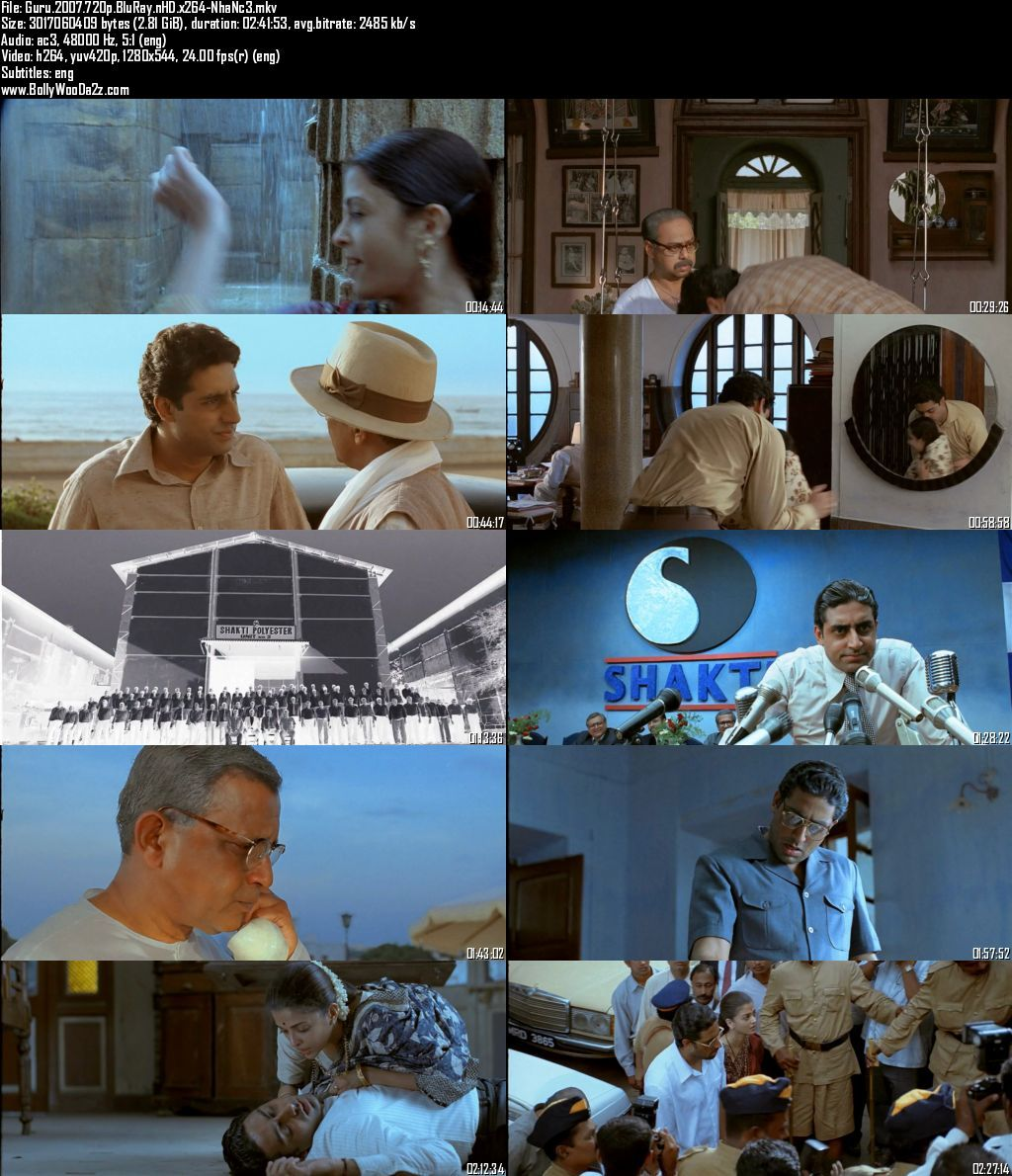 Guru (2007) 720p - BluRay - x264 - DD5.1-NhaNc3