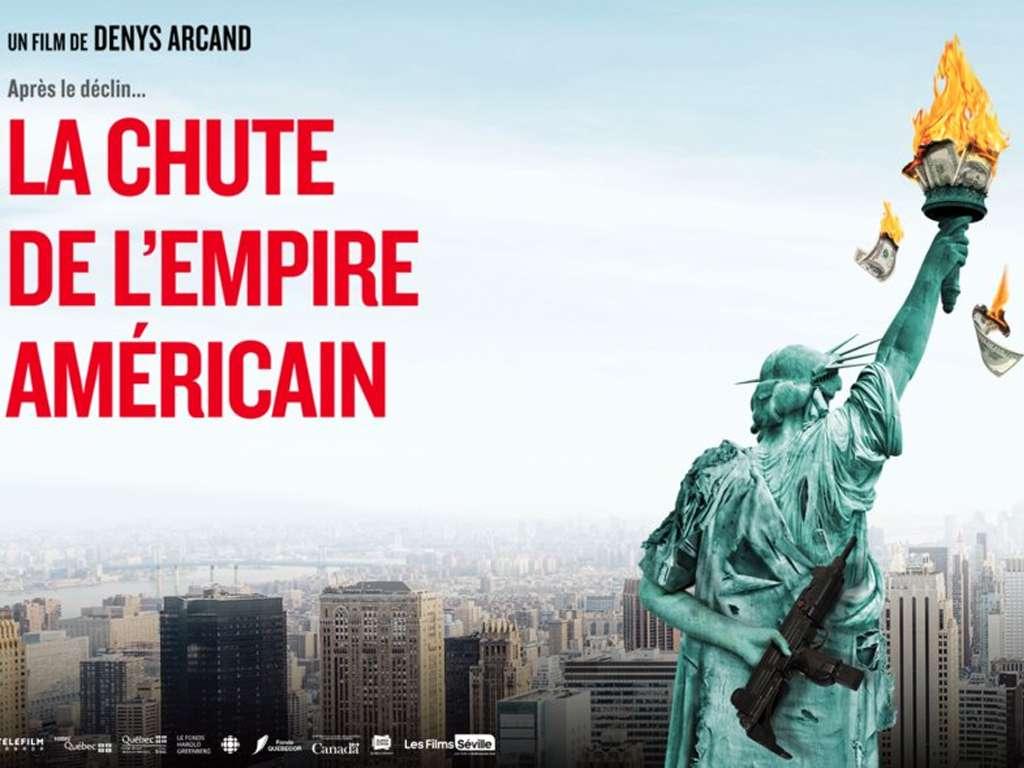 Η Πτώση της Αμερικάνικης Αυτοκρατορίας (La chute de l'empire américain) Poster Πόστερ Wallpaper