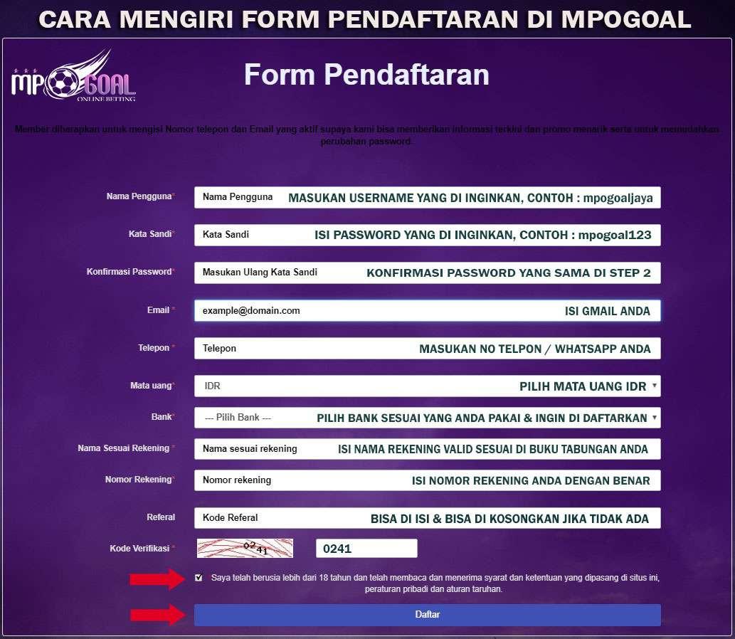 MPOGOAL - Agen Judi Online Di Indonesia MpoGoal.com adalah situs mesin slot online, togel dan situs bola terlengkap, dengan berbagai macam Permainan Seperti Bola, casino, slot, togel, poker, sabung ayam dan tembak ikan.