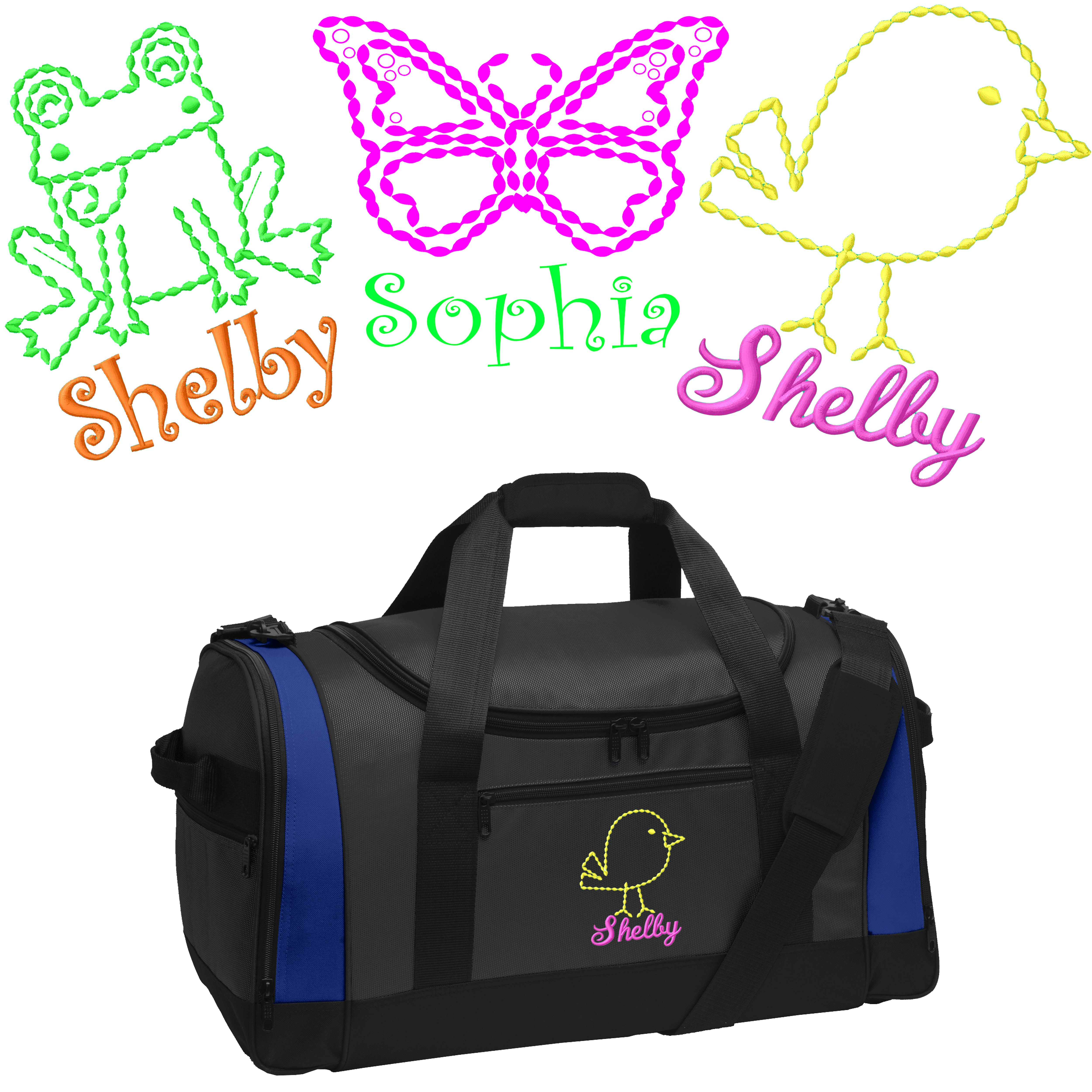 Personalized Crown Voyager Sports Duffel Bag