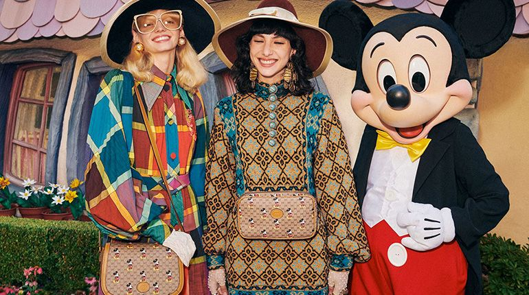 Celebrate Chinese New Year 2020 With Disney X Gucci Collection Featuring Our Favourite Mickey Mouse