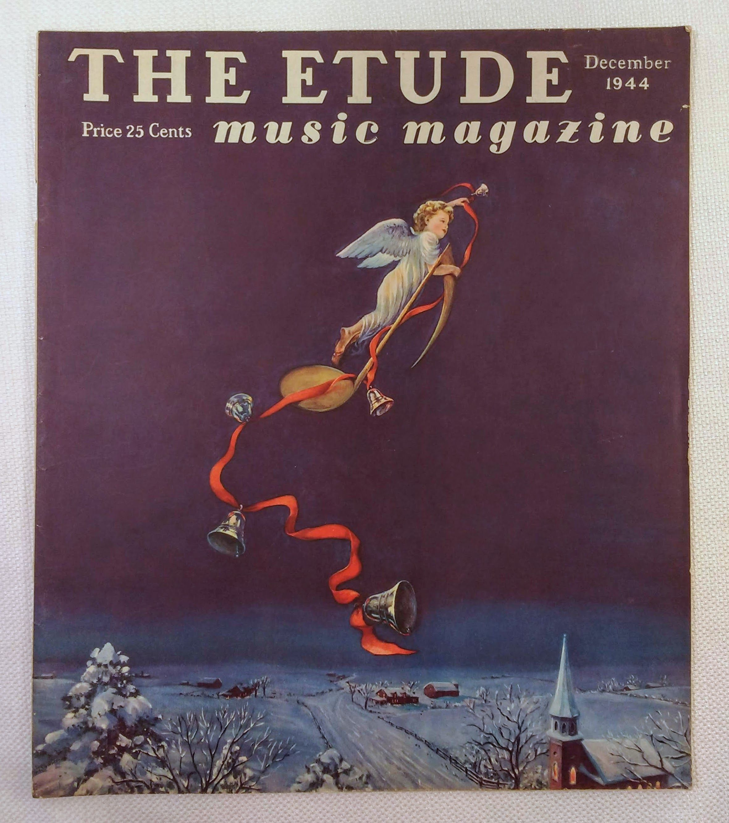 Image for The Etude Music Magazine: Volume LXII, No. 12; December, 1944