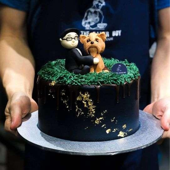 Customised Cake in Singapore Bob the Baker Boy