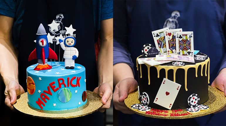 Customised Cake Designs for 10 Different Types of Personalities
