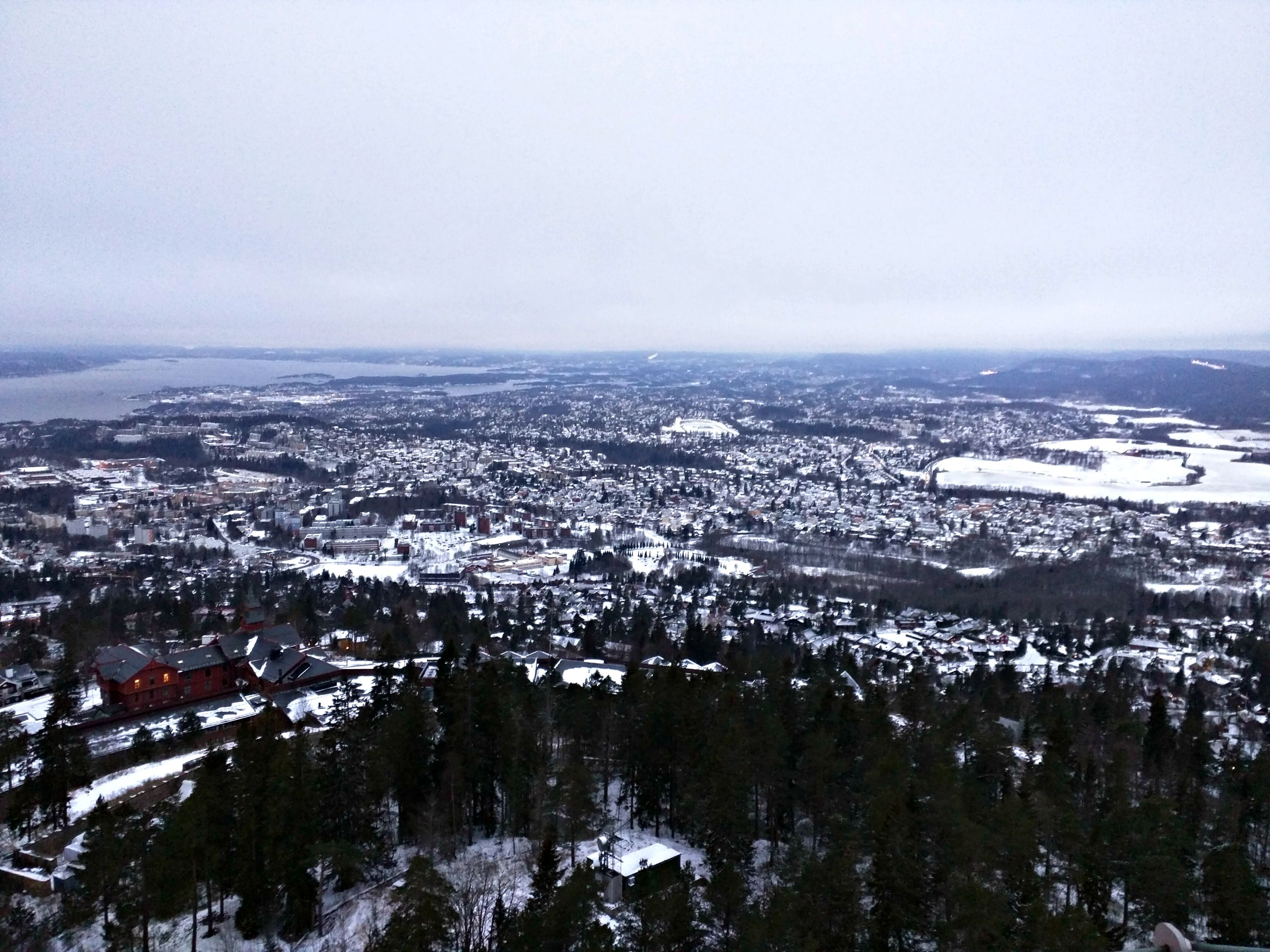 View of Oslo from Holmenkollen