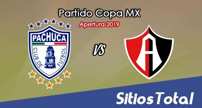Pachuca vs Atlas en Vivo – Copa MX – Miércoles 6 de Noviembre del 2019