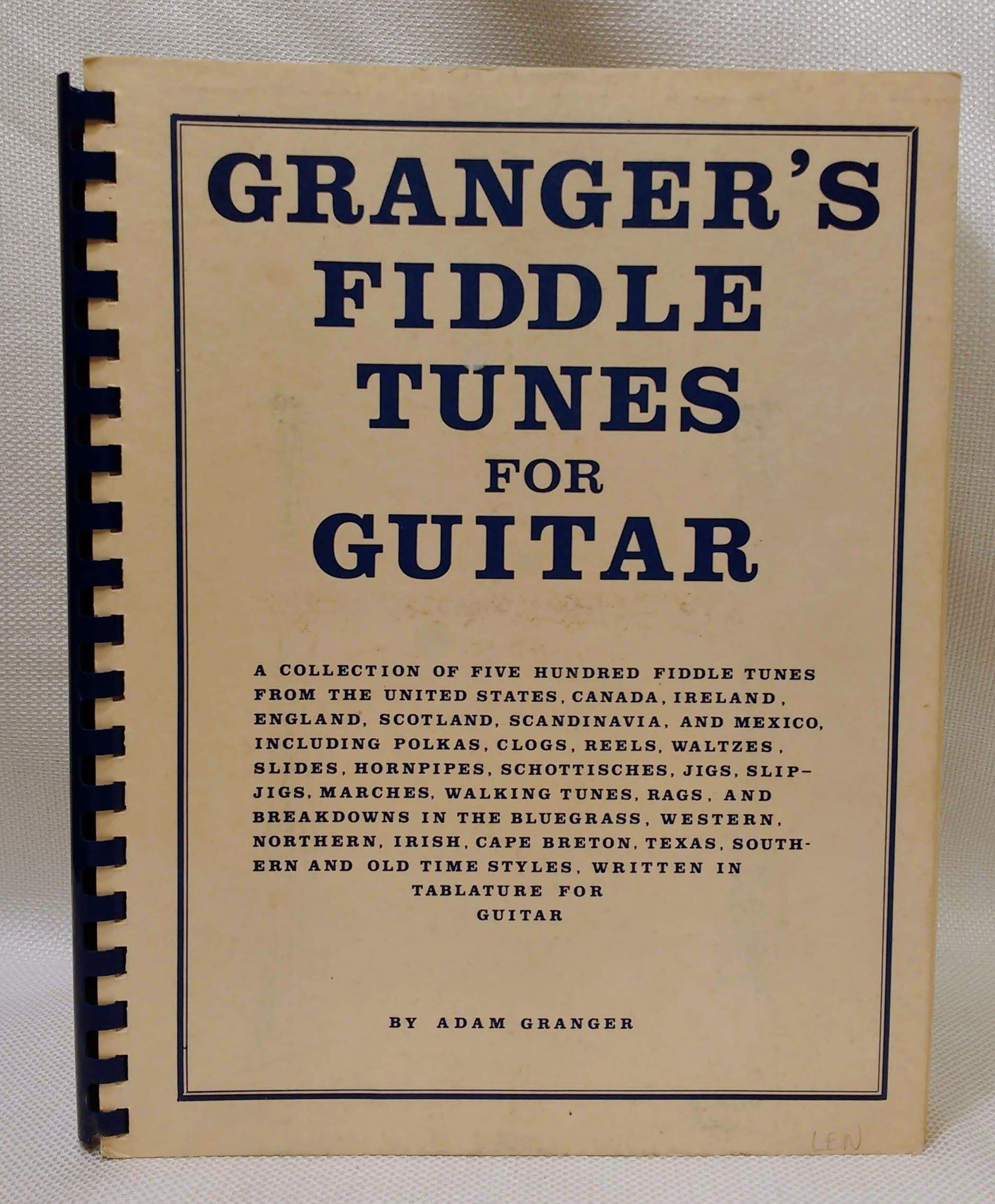 Granger's Fiddle Tunes for Guitar, Adam Granger