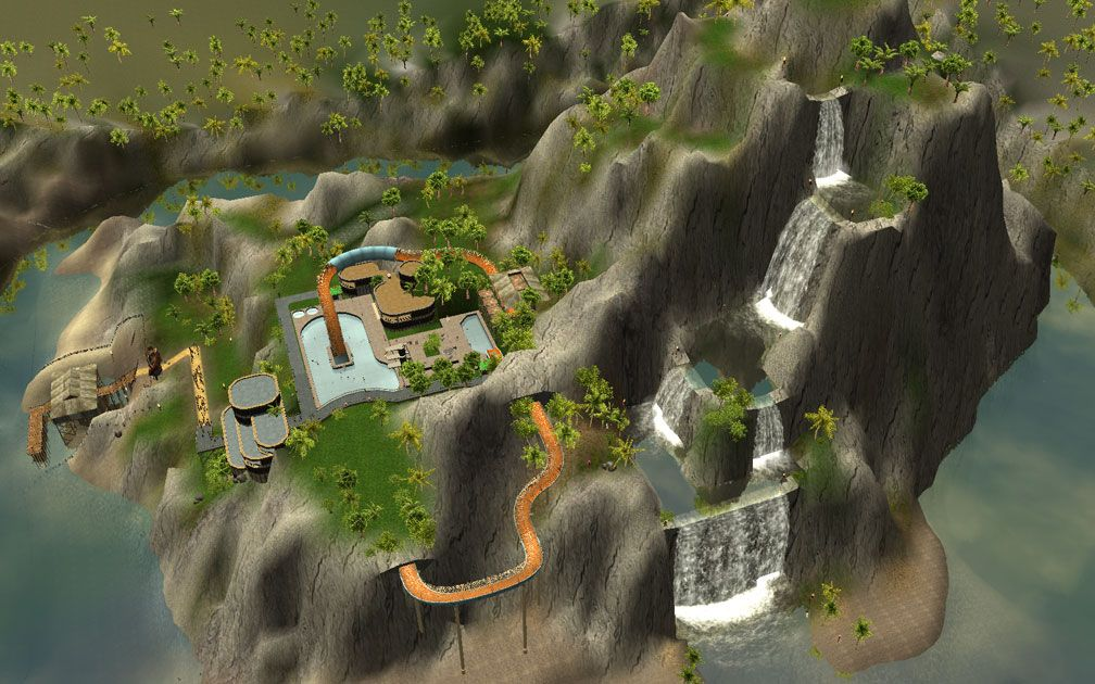Secondary Image for FlightToAtlantis.net: RCT3 FAQ: Campaign Scenario Directory Specifics: Treasure Island