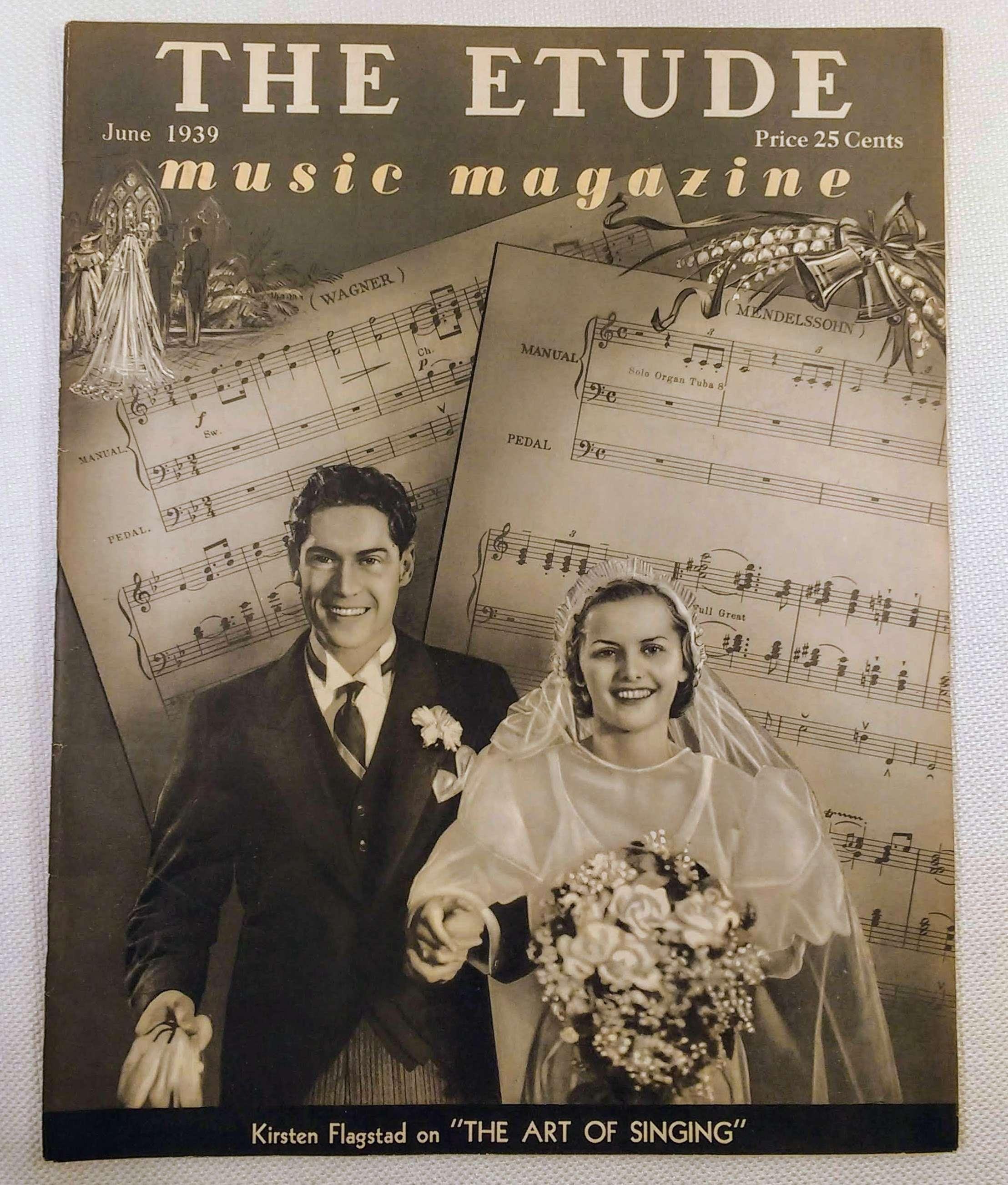 Image for The Etude Music Magazine: Volume LVII, No. 6; June, 1939