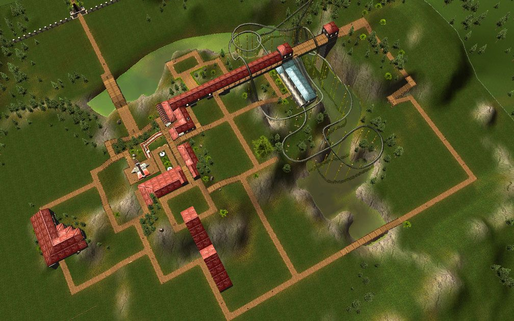 Image 05 - My Downloads - Scenario: RCT3 Demo ParkSave