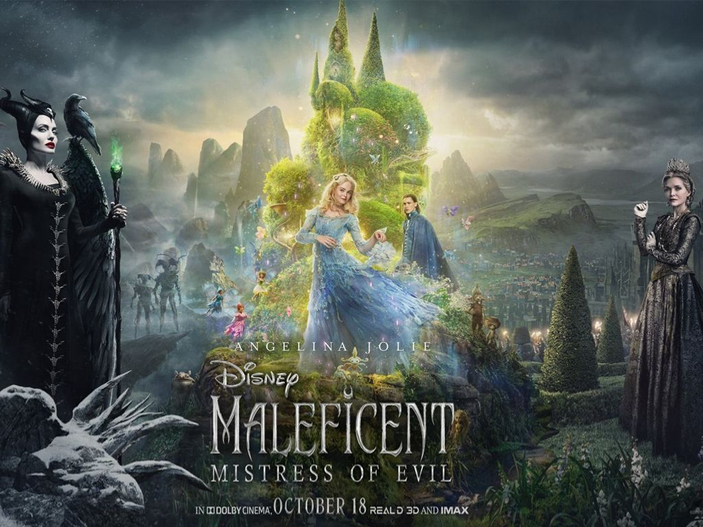 Maleficent: Η Δύναμη του Σκότους (Maleficent: Mistress of Evil) Quad Poster Πόστερ