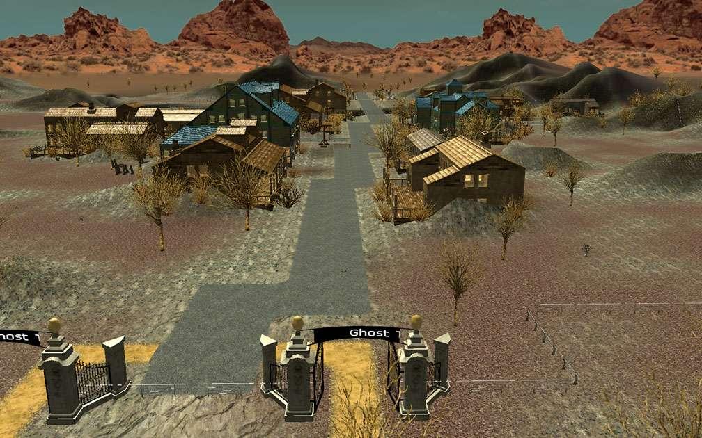 Lead Image for FlightToAtlantis.net: RCT3 FAQ: Campaign Scenario Directory Specifics: Ghost Town