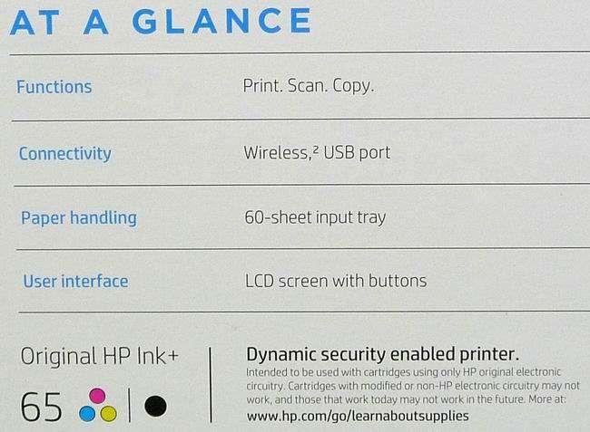 HP DeskJet 2640 All-in-One Wireless Color Inkjet Printer ...