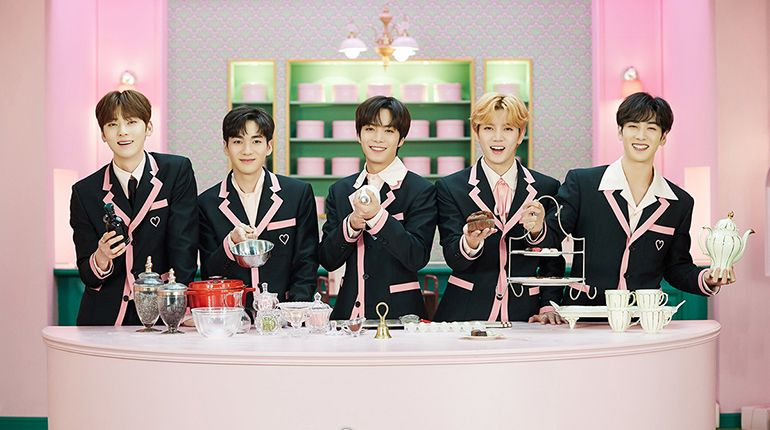 NU'EST Released a New Music Video in Collaboration With Spoonz on Valentine's Day