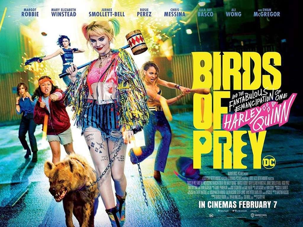 Αρπακτικά Πτηνά Και Η Φαντασμαγορική Χειραφέτηση Της Χάρλει Κουίν (Birds Of Prey & The Fantabulous Emancipation Of One Harley Quinn) Quad Poster