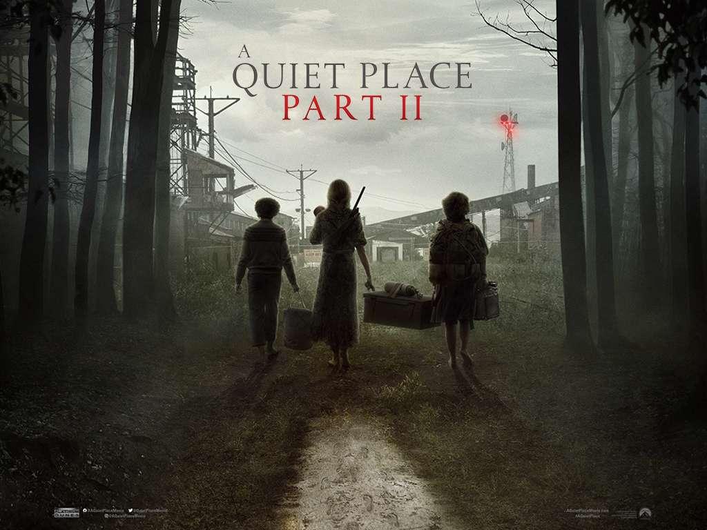Ένα Ήσυχο Μέρος 2 (A Quiet Place Part II) Quad Poster