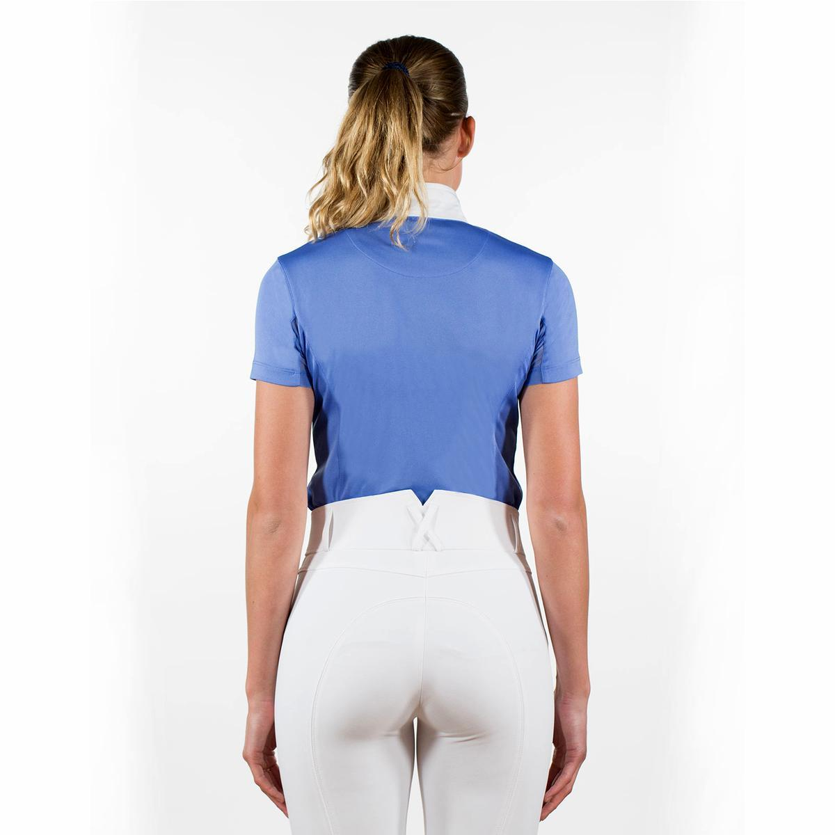 Horze-Blaire-Women-039-s-Short-Sleeve-Functional-Show-Shirt-with-UV-Protection thumbnail 31