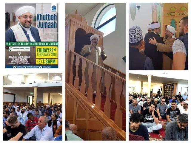 Jumma Khutba - Bosnian Mosque - Melbourne