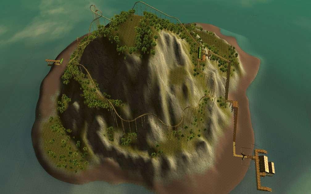 Secondary Image for FlightToAtlantis.net: RCT3 FAQ: Campaign Scenario Directory Specifics: Paradise Island