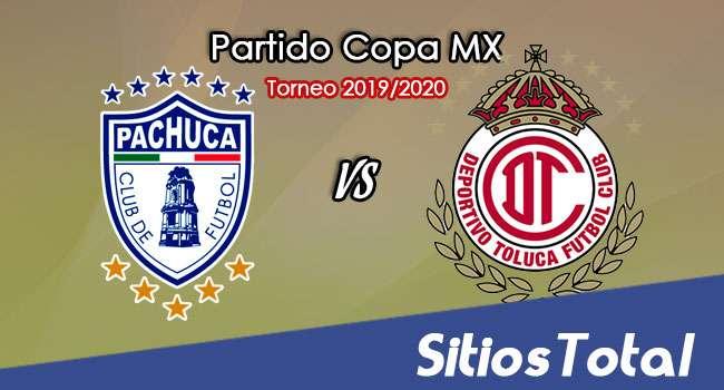 Pachuca vs Toluca en Vivo – Ida Cuartos de Final – Copa MX – Miércoles 12 de Febrero del 2020