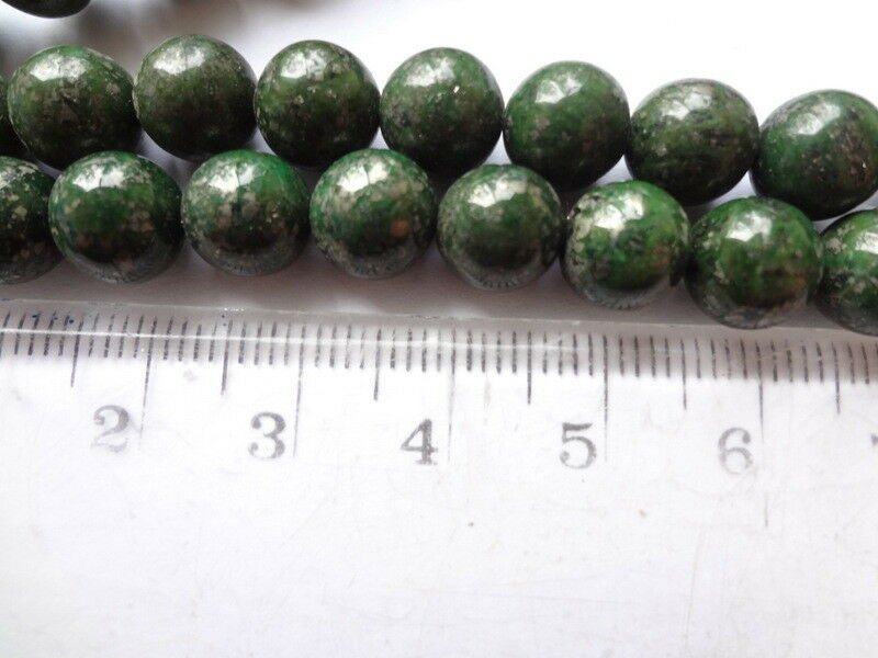 Natural Pyrite Grade A 50pce 1mm hole  Free postage Oz Seller 8mm