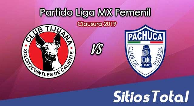 Ver Xolos Tijuana vs Pachuca en Vivo – Liga MX Femenil – Clausura 2019 – Lunes 11 de Marzo del 2019