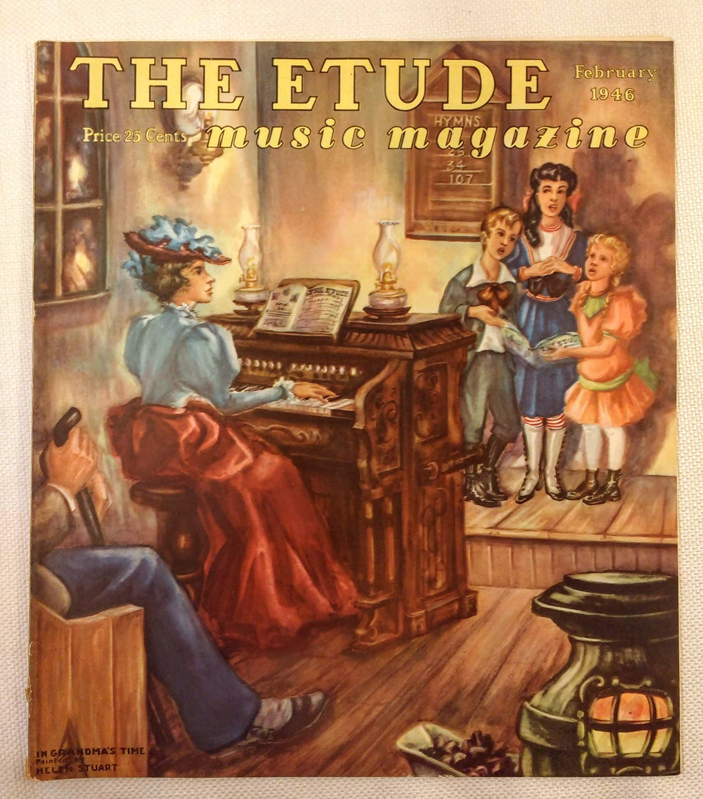 Image for The Etude Music Magazine: Volume LXIV, No. 2; February, 1946