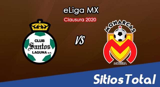 Santos vs Monarcas Morelia en Vivo – eLiga MX – Martes 2 de Junio del 2020