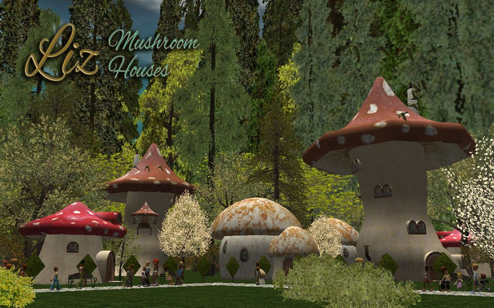 Image 01, RCT3 Public File Share: Available Downloads - Custom Scenery - RCT2 Wonderland Themed Set