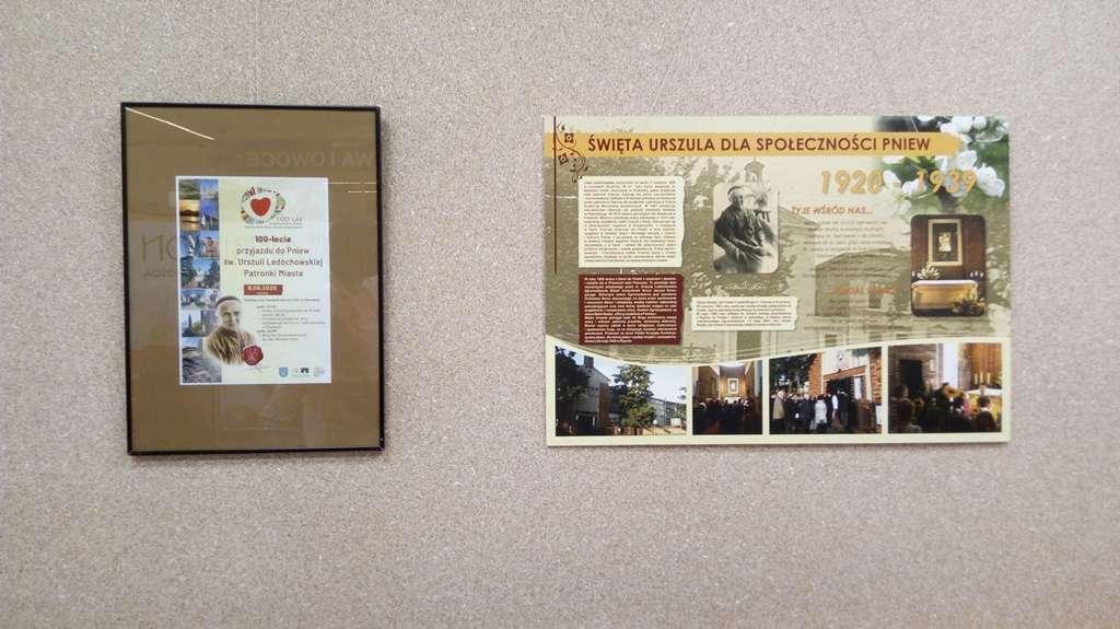 Wystawa zokazji stulecia przyjazdu doPniew św.Urszuli Ledóchowskiej – Patronki Miasta
