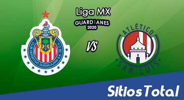 Chivas vs Atlético San Luis en Vivo – Liga MX – Guardianes 2020 – Sábado 15 de Agosto del 2020