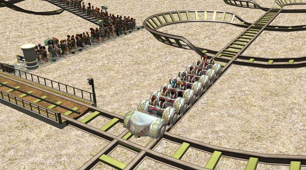 Demo Screenshot Image 03, My Downloads - Coasters, Rides, & Attractions - Coaster: Coeur de Force