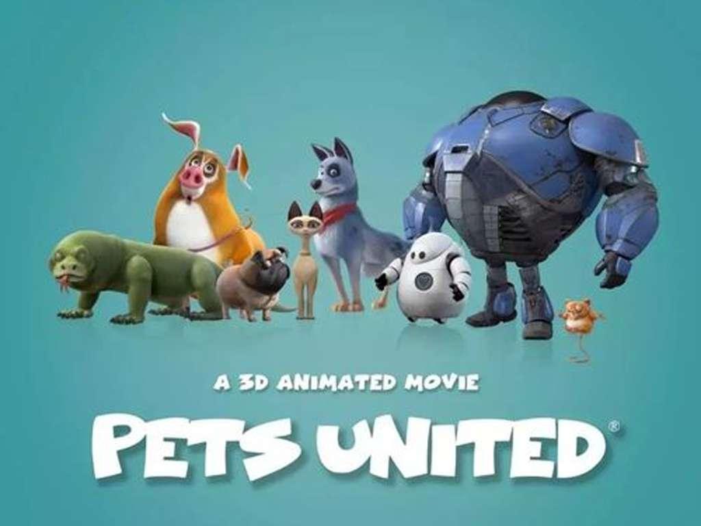 Ενωμένες Πατούσες (Pets United) - Trailer / Τρέιλερ Movie