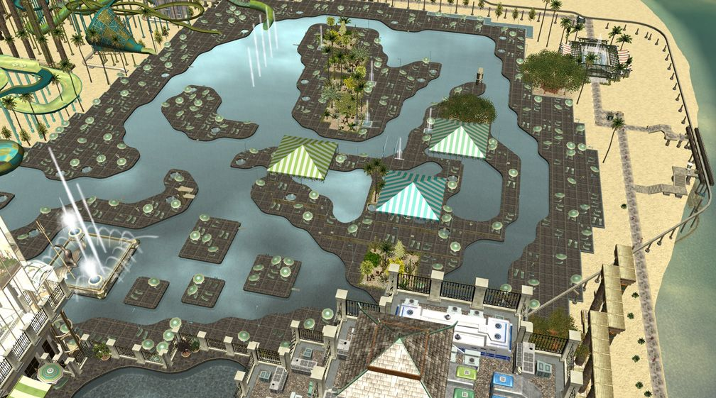 Image 12 - Parks, Scenarios, & Sandboxes - Scenario: Water World Resort