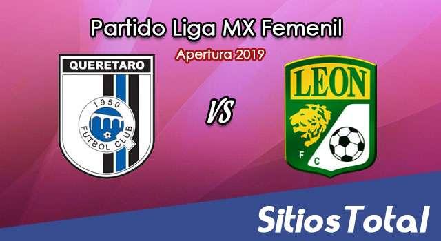Ver Querétaro vs León en Vivo – Liga MX Femenil – Apertura 2019 – Viernes 19 de Julio del 2019